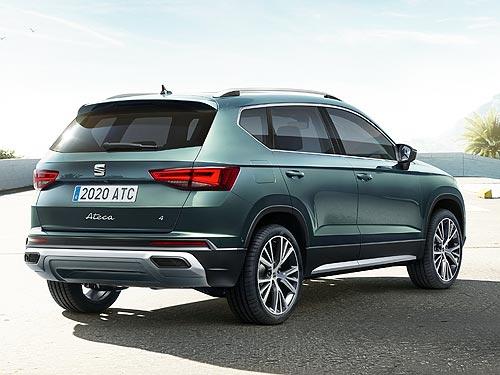 В Украине стартовали продажи нового SEAT Ateca - SEAT