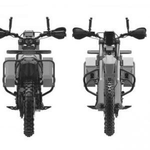 """Концерн """"Калашников"""" показал изображение гражданской версии электромотоцикла с китайским мотором"""