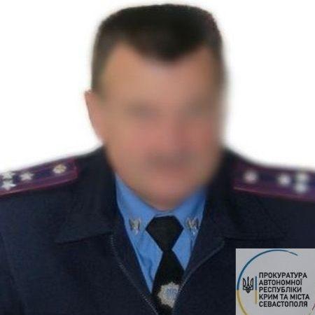 По подозрению в госизмене. Задержан экс-замглавы МВД Крыма