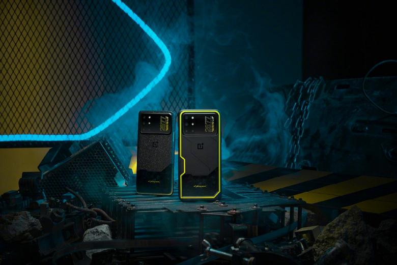 Представлен OnePlus 8T Cyberpunk 2077 Limited Edition