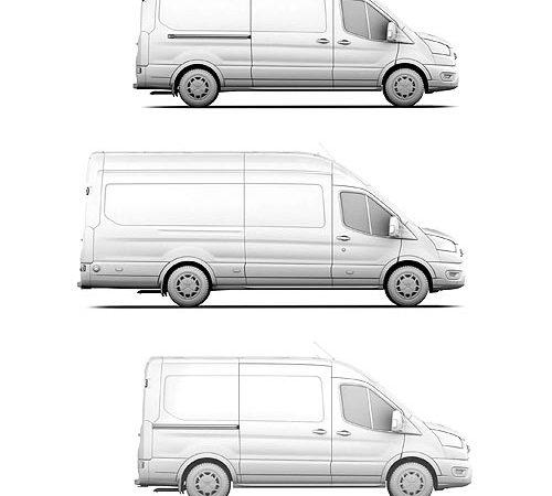 Самый популярный в мире грузовой фургон стал полностью электрическим. Каким будет Ford E-Transit