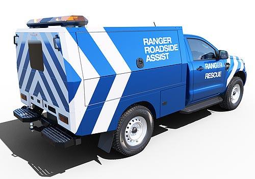 У Ford Ranger появилась версия шасси с кабиной для постройки спецверсий