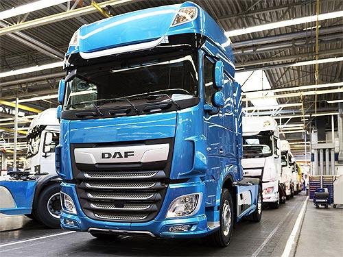 DAF XF и DAF CF получили награду за лучший дизайн - DAF