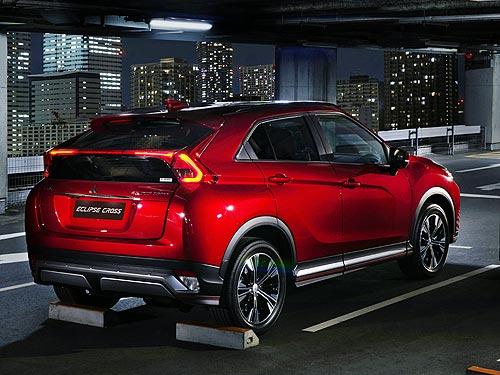 Mitsubishi Eclipse Cross теперь доступен по цене от 739 000 грн.* - Mitsubishi