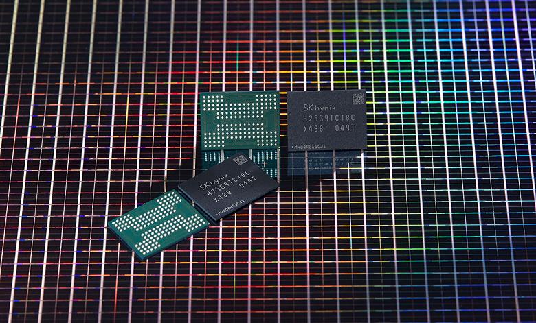 SK Hynix начинает серийный выпуск «первой в мире» 176-слойной флеш-памяти 4D NAND
