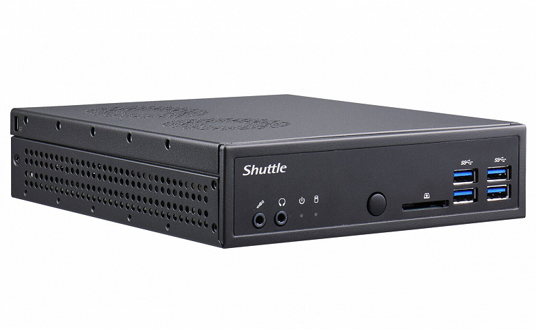 Базовый комплект для сборки мини-ПК Shuttle XPC slim DA320 рассчитан на процессоры AMD Ryzen