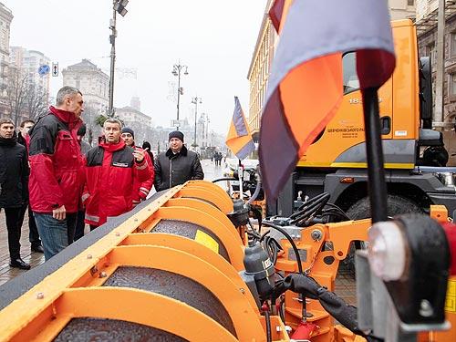 Киевавтодор доверяет МАЗу - МАЗ
