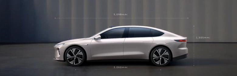Представлен серийный электромобиль с запасом хода более 1000 км. Nio ET7 с суперкомпьютером Nvidia стартует с 70 000 долларов