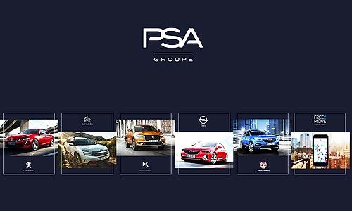 Продажи Группы PSA в 2020 году составили 2,5 млн автомобилей - PSA