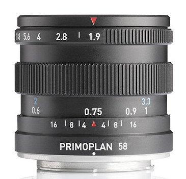 Следующим обновленным объективом Meyer Optik Gorlitz будет Primoplan 58 f/1.9 II