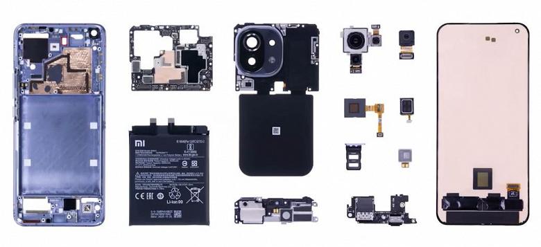 Тройная камера единым модулем и система охлаждения, к которой есть вопросы. Официальная разборка Xiaomi Mi 11