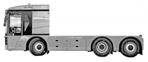 Украинский производитель запатентовал электрический грузовик - Богдан