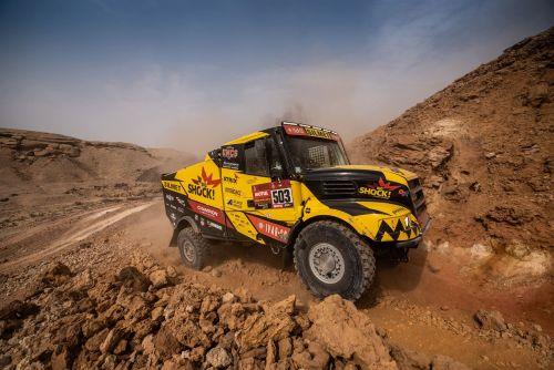 IVECO выигрывает 10-й этап Дакара