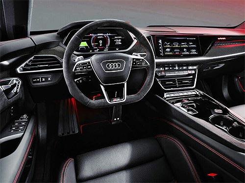 Audi представила свой новый электрический флагман - Audi e-tron GT - Audi