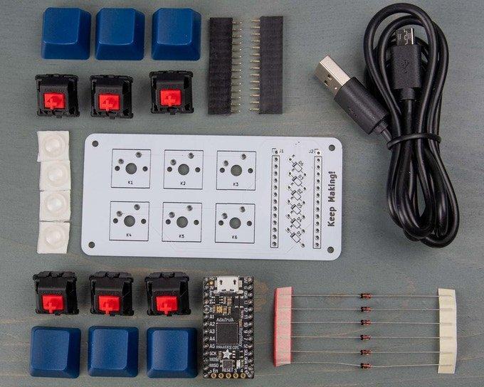 BYO Keyboard — набор для самостоятельной сборки механической клавиатуры