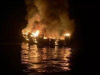 В Черном море у Рыбаковки горел сухогруз, без пострадавших