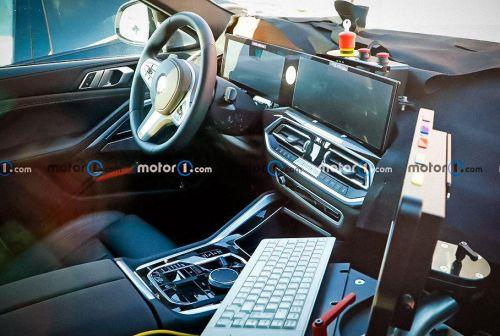 Каким будет интерьер нового поколения BMW X6