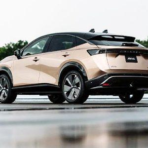 Nissan Ariya должен стать лучшим кроссовером в истории Nissan по аэродинамике