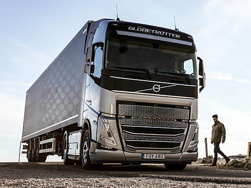 Volvo Trucks поставит 1000 грузовиков Volvo FH с технологией I-Save - Volvo