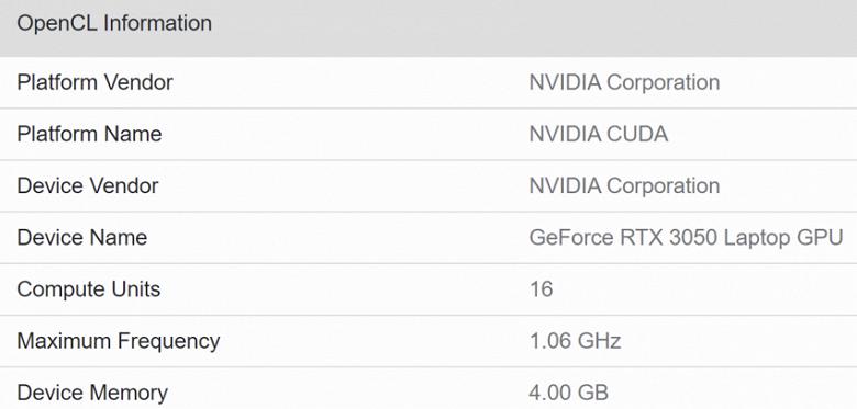 2048 ядер CUDA и 4 ГБ памяти. Характеристики видеокарты GeForce RTX 3050, у которой нет предшественницы