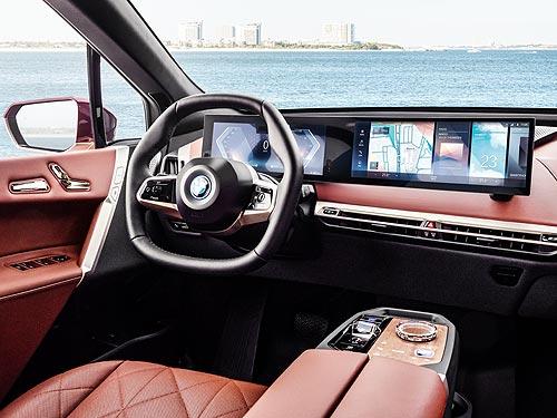 BMW представил новый электрический кроссовер BMW iX. Подробности - BMW