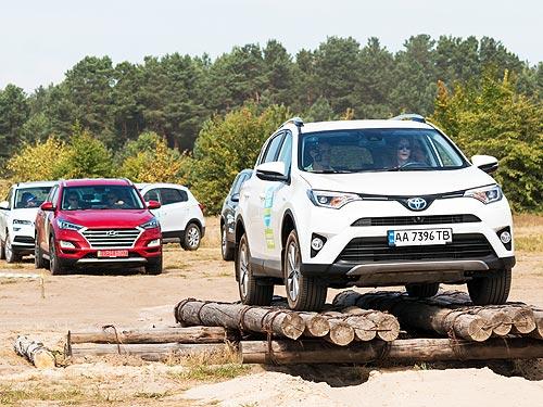 В Украине определены наиболее популярные модели SUV-сегмента за предыдущие 20 лет - SUV