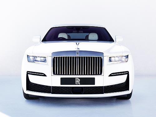 В Украину прибыл новый Rolls-Royce Ghost - Rolls-Royce