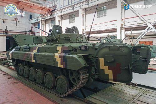 Житомирский бронетанковый завод отремонтировал очередную партию БМП-2 - БМП