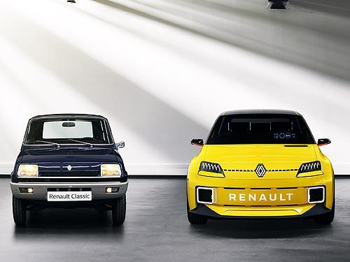 Каким будет прототип Renault 5 из 70-х, подмигивающий фарами - Renault