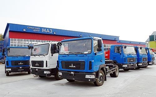 МАЗ ищет сервисных партнеров по обслуживанию автотехники в Украине - МАЗ