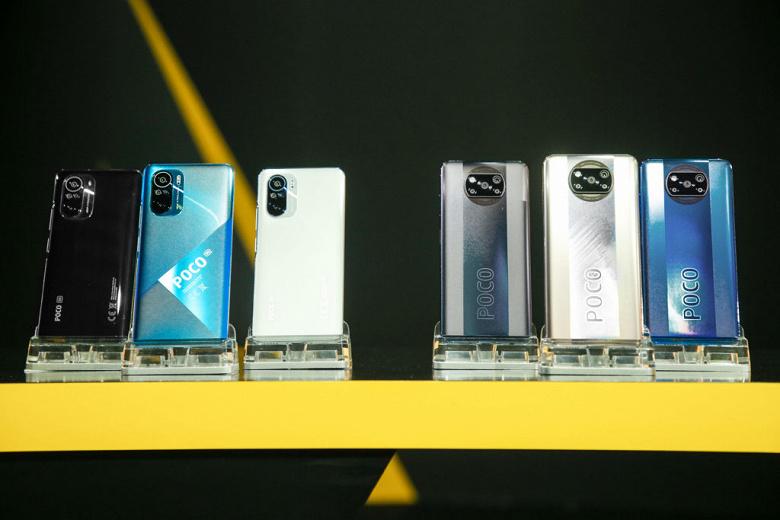 Ориентировочные цены на Poco F3 и Poco X3 Pro в России