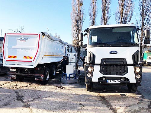 Самосвалы Ford Trucks будут строить дороги в Полтавской области