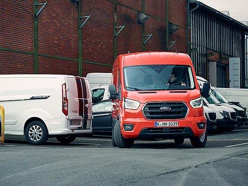 Стало известно, когда стартует производство нового поколения полностью электрического Ford Transit Custom - Ford