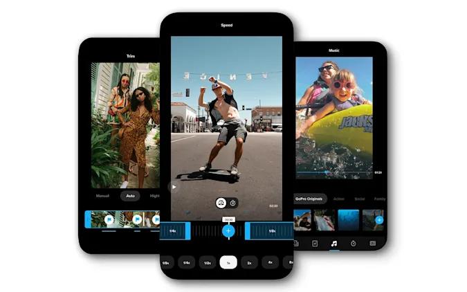 GoPro выпустила приложение для Android и iPhone