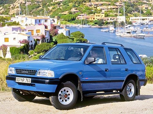 Opel Frontera отмечает 30-летие