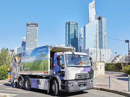 Renault Trucks в 2023 году начнет продажи линейки электрических грузовиков для все сегментов - Renault