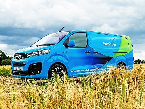 В Британии заказали крупнейшую партию электрических фургонов Opel/Vauxhall Vivaro-e - Opel
