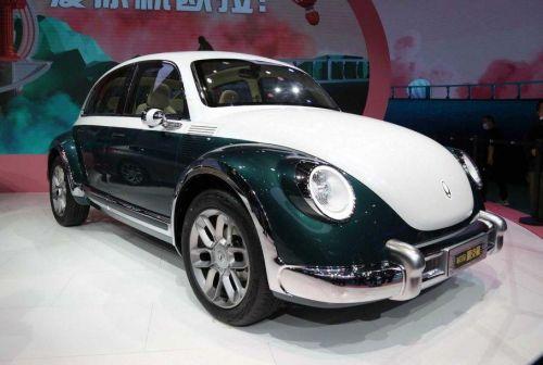 В Китае вновь взялись за плагиат автомобилей. На этот раз досталось VW Beatle - китай