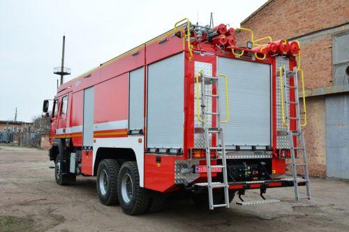В Украине выпустили новый пожарный автомобиль для ликвидации масштабных пожаров