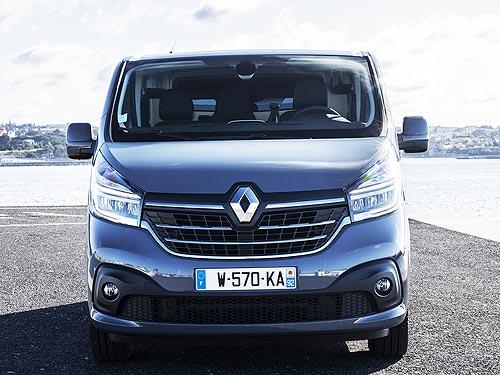 В Украине стартуют продажи грузового фургона Renault Trafic - Renault