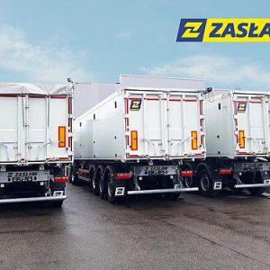В Украину начались поставки обновленных моделей полуприцепов ZASLAW