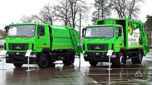 МАЗ готовит электрический мусоровоз новой концепции - МАЗ