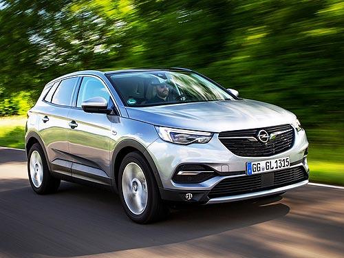 На кроссовер Opel Grandland X действует ГРАНДИОЗНАЯ выгода -40 000 грн. - Opel