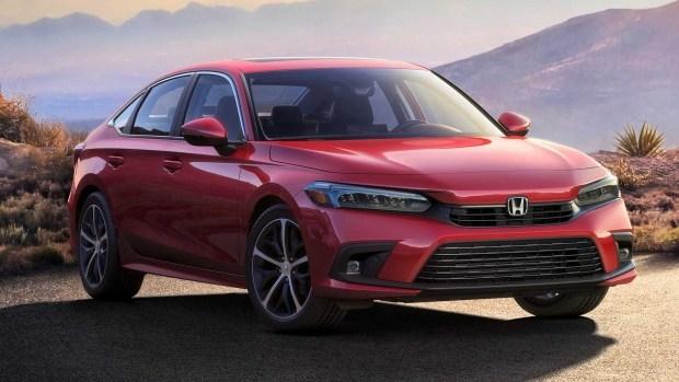 Новый седан Honda Civic 11-го поколения