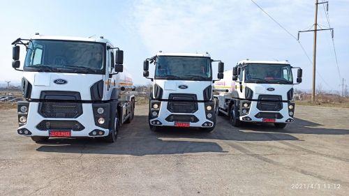 """Ford Trucks поставил 10-кубовые топливозаправщики компании """"Автомагистраль-Юг"""""""