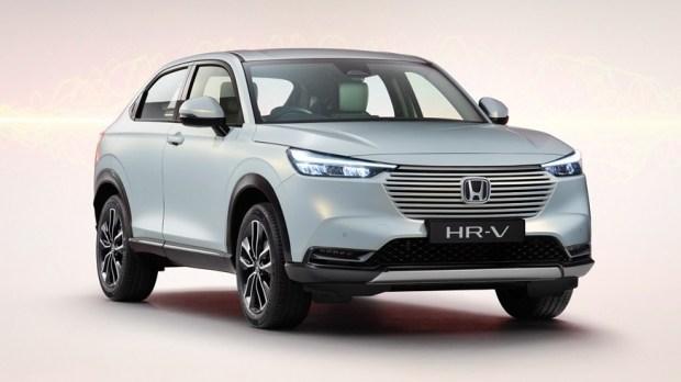 Honda HR-V нового поколения для Европы. Японский Vezel выглядит так же, в США у кросса будет другой дизайн (американскую версию еще не представили)