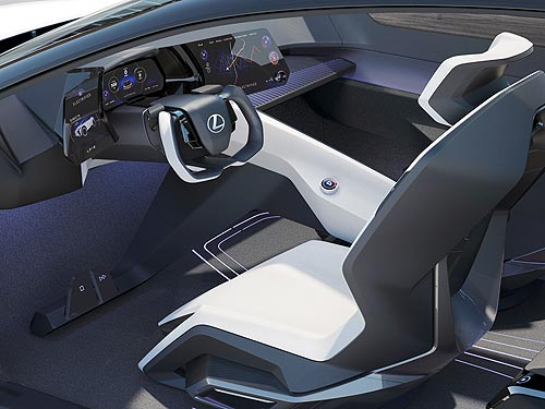 Lexus представлет электрический концепт-кар LF-Z Electrified - Lexus