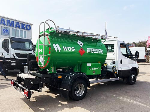WOG начинает закупки автомобилей IVECO - IVECO