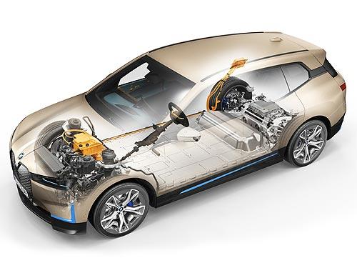 В Украине стартовали предпродажи нового полностью электрического BMW iX. Поставки уже до конца года