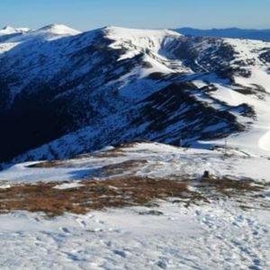 На горе Поп Иван Черногорский потеплело